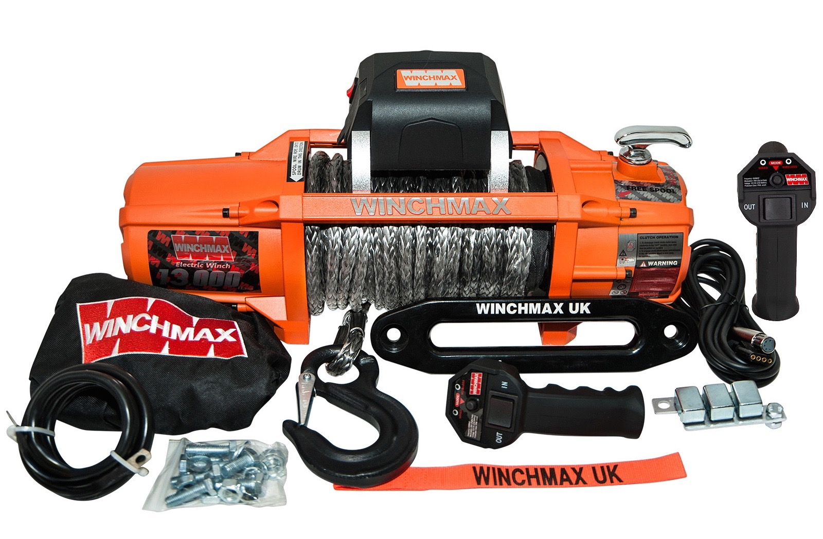 product_view.php?pid= WINCHMAX SL 13500lB 24V ELECTRIC WINCH SYNTHETIC ROPE WITH WIRELESS REMOTES