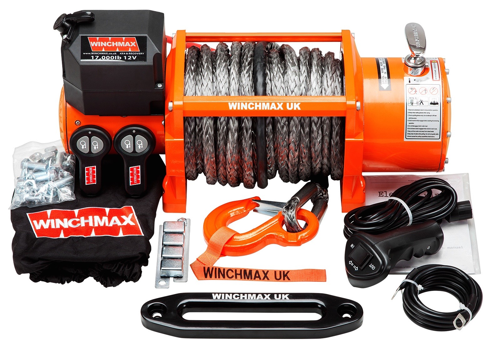 product_view.php?pid=WINCHMAX 17000LB 24V ELECTRIC WINCH DYNEEMA ROPE WITH WIRELESS REMOTES