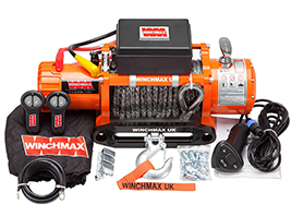Winchmax Australia: Electric Winch 13000lb 12V Synthetic Rope