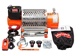 Winchmax Australia: Electric Winch 12V 4x4 13000 lb Winchmax Brand